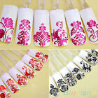 108PCS 3D Flower Decal Stickers Stamping Manicure DIY Decoration Nail Art Supply
