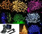 100/200 LED Lamp Solar String Light Multi-color Party Xmas Wedding Outdoor Decor