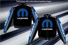 Mopar Racing Jacket Black Blue Cotton Twill Jacket Embroidered New JH Design