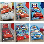 DISNEY CARS LIGHTNING MCQUEEN BEDDING SINGLE, DOUBLE & JUNIOR COVERS AVAILABLE