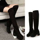 Fashion-Knee-High?boots new design women suede warm boots