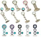The Olivia Collection Digital Multi Function Silicone Rubber Nurses Fob Watch