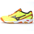 MIZUNO Men's/Unisex WAVE TWISTER 3 Indoors Volleyball Shoes V1GA147211 YELLOW