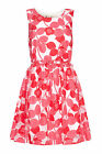 YUMI LADIES YOSD44 LACE JACQUARD DRESS RED RRP £60.00 VAR SIZES