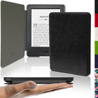 Slim PU Leather Shell Case Cover for Amazon Kindle 2014 Touchscreen + Sleep Wake