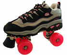 Skechers 4 Wheelers Freerider Womens Roller Skates / Shoes - Pink Blue Size 4 5