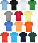 MENS LADIES T-SHIRT PLAIN CREW NECK COTTON S-2XL BRAND NEW