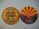 Beer COASTER FOUR PEAKS Brewing Odelay mexican Chocolate Ale  Tempe ARIZONA