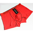 CH Mens Cotton Pure Color Sexy Boxers Shorts New Mens Underpants Underwears