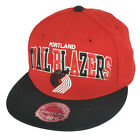 NBA Mitchell Ness G022 Portland Trailblazers Multicolor Fitted Hat Cap