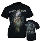 KATAKLYSM - BANDSHIRT *CRIPPLED AND BROKEN* in L - XXL T - SHIRT HEAVY METAL