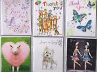Pack of 4 Blank Just To Say or Thank you Cards by Noel Tatt - Various Designs