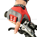 ROCKBROS Bike Cycling Gel Half Finger Short Finger Gloves Red New