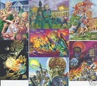MARS ATTACKS INVASION GOLD SINGLES**COMPLETE YOUR SET #'S 1-50 USE DROP BOX