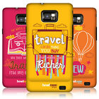 HEAD CASE DESIGNS TRAVELLERS NOTE HARD BACK CASE FOR SAMSUNG GALAXY S2 II I9100