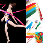 4M 8 Colors Dance Ribbon Gym Art Gymnastic Streamer Twirling Rod Rhythmic Baton