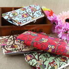 New Fashion Women Lovely Style Lady Wallet Hasp Owl Purse Clutch Bag Applied