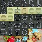 28 Shapes Biscuit Cookie Cake Jelly Metal Cutter Tin Mould Baking DIY tool DJNG
