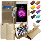 Sonata Flip Leather Stand Wallet Case Cover w/Silicone For iPhone Galaxy LG+Film