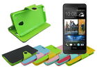 Leather Wallet Case Stand with Inner TPU Soft for HTC One Mini