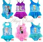 Girl Kids Toddler Princess Tankini Set Swimsuit Swimwear Bathers Beachwear 3-10Y