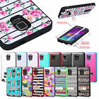 For Samsung Galaxy Note 4 TUFF Verge Hybrid Hard Gel Shockproof Stand Case Cover