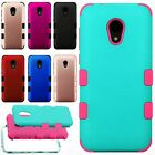 Samsung Galaxy Core Prime Robust Slim HYBRID Rubber Case Cover +Screen Protector