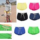New Womens Cotton Jersey Hot Pants Running Shorts Gym Beach Sports Yoga Shorts