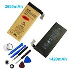 Gold High-Capacity Internal Replacement Battery for iPhone 4 4S 5 5S 6 6S Plus +