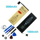 High-Capacity Gold Internal Replacement Battery for iPhone 4 4S 5 5S 6 6S Plus +