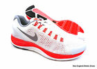 Nike Lunarglide+ 4 running shoes sneakers for women - Summit White / Crimson