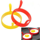 2/4pcs Silicone Egg Ring Fry Oven Poacher Pancake Poach Model Mould Home Kitchen