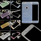 Full Body Glitter Film Guard Matte Screen Protector For iPhone 4 4S 5 5S 6 6Plus