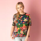 Womens Glamorous Flower Top In Floral High-End Fashion With A Affordable Price