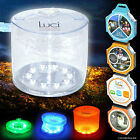 LUCI LIGHTS SOLAR POWERED LAMP BRIGHT LED CAMPING TRAVEL WATERPROOF TENT FISHING