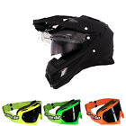 Oneal 2014 Casco Da Motocross Sierra Adventure Flat Schwarz Enduro Cross Mx-2