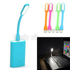 Flexible USB LED Light Lamp For Computer Keyboard Reading Notebook PC Laptop New