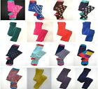 NEW girls Mini Boden fun bold footed/footless tights ONE pair patterned 1-14
