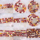 2MM 4MM 6MM 8MM 10MM 12MM Natural Multi-color Mookaite Jasper Round Bead