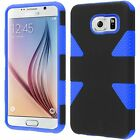 For Samsung Galaxy S6  IMPACT TUFF HYBRID Protector Skin Cover +Screen Protector