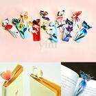 5/10x Random 3D Butterfly Bookmark Marker Paper Card Clip Book Animal Marks Gift
