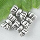 Wholesale 160/350Pcs Tibetan Silver  Bow  Spacer Beads 6x3mm(Lead-free)