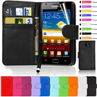 Flip Wallet Leather Case Cover For Samsung Galaxy S2 I9100 Free Screen Guard