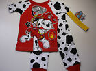 New Paw Patrol pajamas Toddler Boys 12M 18M 24M 3t 4t 5t 2 piece Nick Jr Paw
