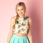 Womens Glamorous Hawaiian Top In Floral From Get The Label