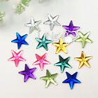 50 12mm STAR Flatback Rhinestone DIY Craft Favor Gift Scrapbooking 7 COLORS