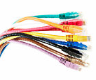 Premium Quality Cat5e RJ45 Enhanced Ethernet Network Cables - 0.5M - 20M Leads