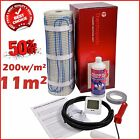 Electric Underfloor Undertile Heating Kit 200w 11m2 Thermopads FREE Delivery