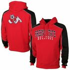 Mens Fresno State Bulldogs Cardinal Thriller Pullover Hoodie