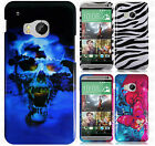 For HTC One M9 HARD Protector Case Snap On Phone Cover Accessory +Screen Guard